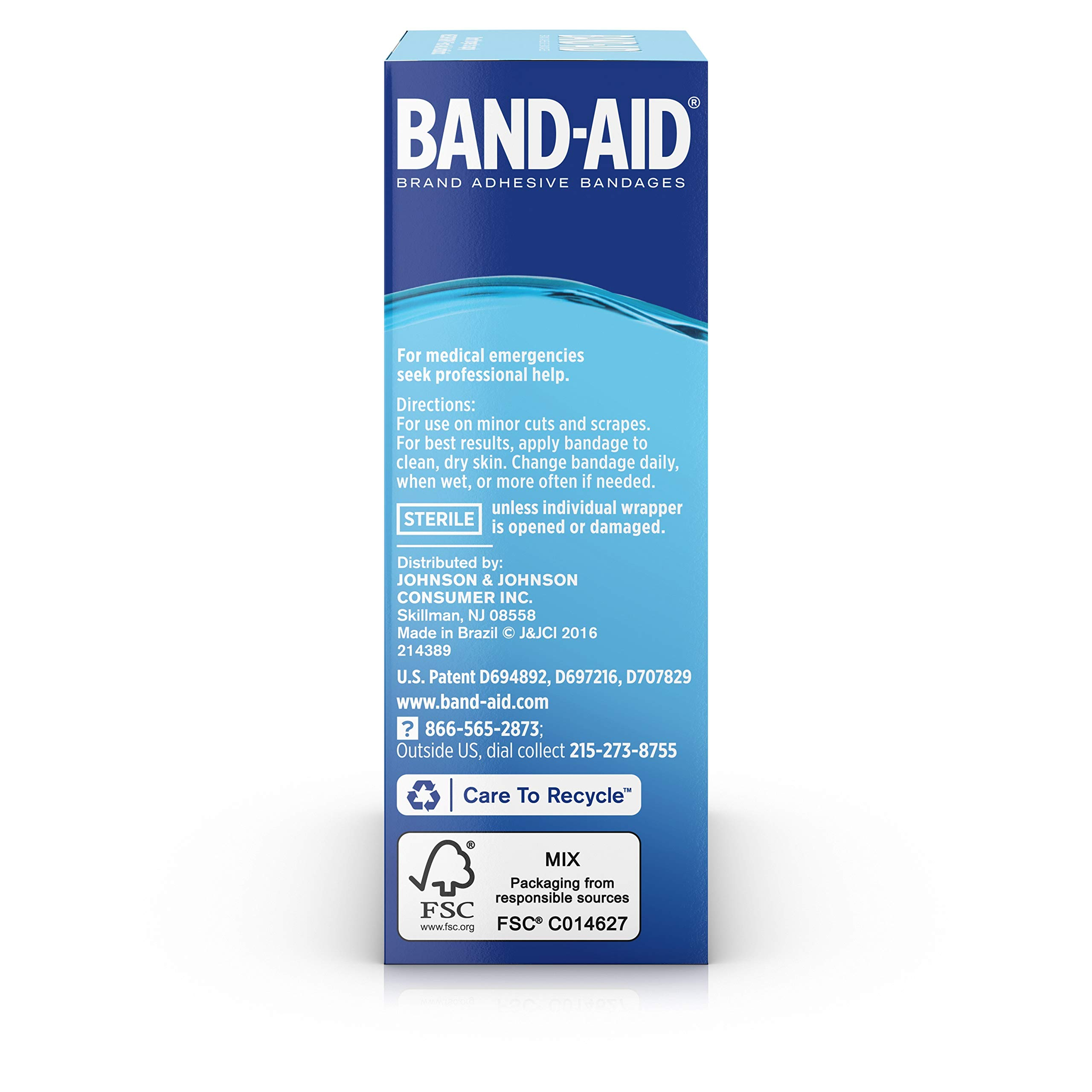 Band-Aid Brand Water Block Plus Waterproof Clear Adhesive Bandages for Minor Cuts and Scrapes, 30 ct (6 Pack) by Band-Aid (Image #9)