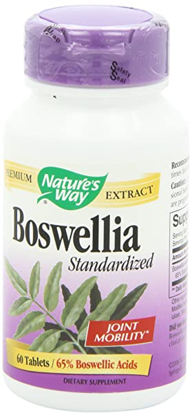What are the most common side effects for Boswellia?