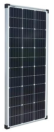 enjoysolar Monokristallines 24 V panel solar ideal para jardín, caravana (100 W/24 V): Amazon.es: Industria, empresas y ciencia