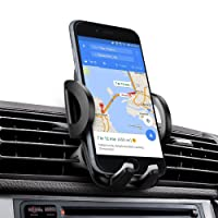 Car Phone Mount, iAmotus Super Stable Air Vent Mobile Phone Holder Car Cradle 360° Adjustable for iPhone X 8 7 6s Plus 5s Samsung Galaxy S8 S7 S6 Edge Nexus & Smartphones GPS Device [New Release]
