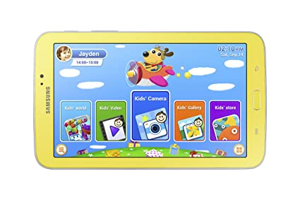 Samsung Galaxy Tab 3 Kids Edition (7-Inch with Carrying Case and Stylus)