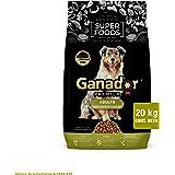 Ganador Premium Superfoods 20kg, Alimento para Perros Adultos de Razas Medianas y Grandes.