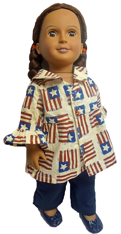 Patrioticコートとズボンfor 18インチ人形   B00ZBOZDC0, 丸山町:20368268 --- arvoreazul.com.br