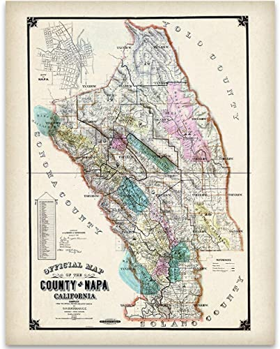 1895 Map of Napa Valley California Art Print - 11x14 Unframed Art Print Map Napa Valley California on placer county, sequoia california map, lake tahoe california map, mendocino county, hollywood california map, texas map, sonoma california map, san diego california map, lake county, st. helena, alameda county, yosemite california map, monterey california map, solano county, northern california map, santa cruz, california appellation map, santa barbara county, wineries in napa map, yountville california map, san francisco, california map, sonoma county, santa rita hills california map, mount lassen california map, california california map, san francisco bay area, lake berryessa, orange county, sacramento county, contra costa county, alcatraz island california map, ventura county, marin county, san mateo county, monterey county, downtown napa california map, northern california, california wine country map, st. helena california map,