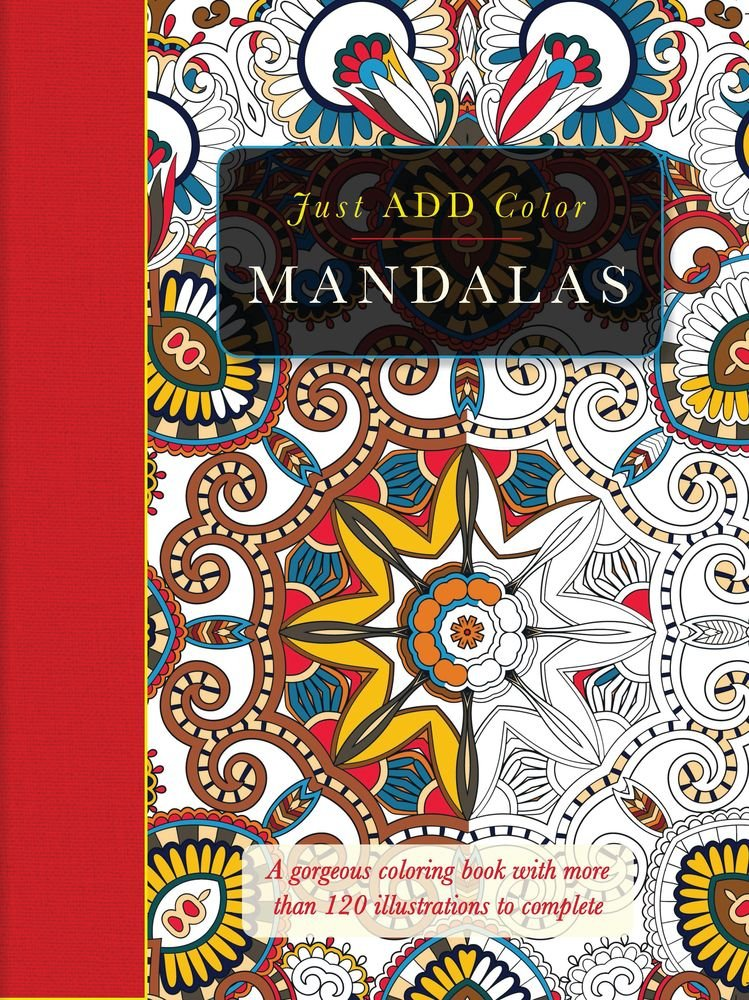 Amazon.com: Just Add Color: Mandalas (9781438006130): Carlton ...