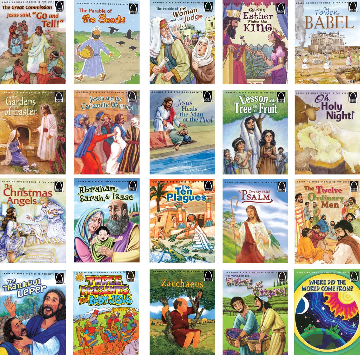 Arch Books Complete Set of 134 Volumes Book Series Children's Bible