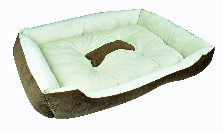 Lit pour chien Animaux Lit Lieu de Sommeil Panier pour chien Canapé pour chien couverture pour chien chat lit Coussin pour chien chat Panier Dimensions: env. 80x 60x 15cm (pb001–2) Hengtai