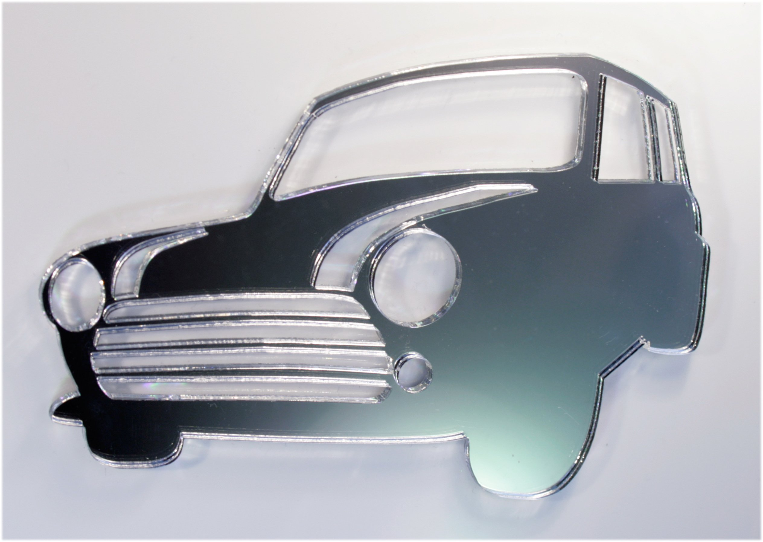 Car Mirror - Available in various sizes, including sets for crafting kits - 20cm x 13cm