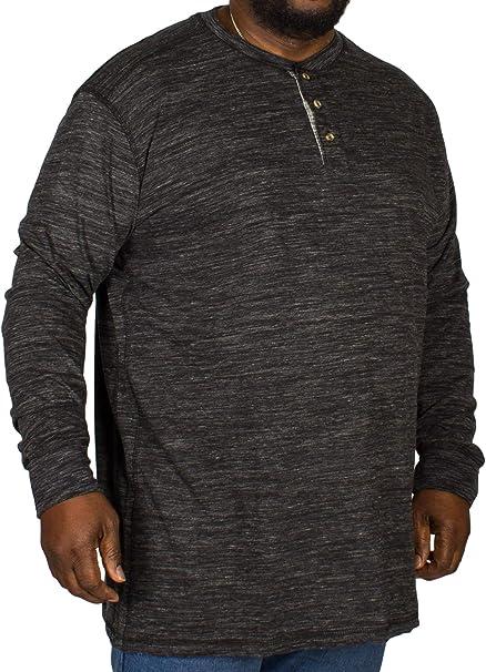 6XL 69 Kingsize Mens Big Size Grandad Collarless Short Sleeve Polo Top 3XL