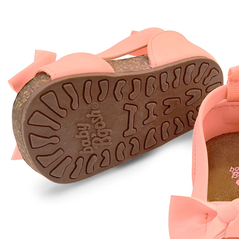 OshKosh BGosh Girls Bow Strap Sandals Crib Shoe