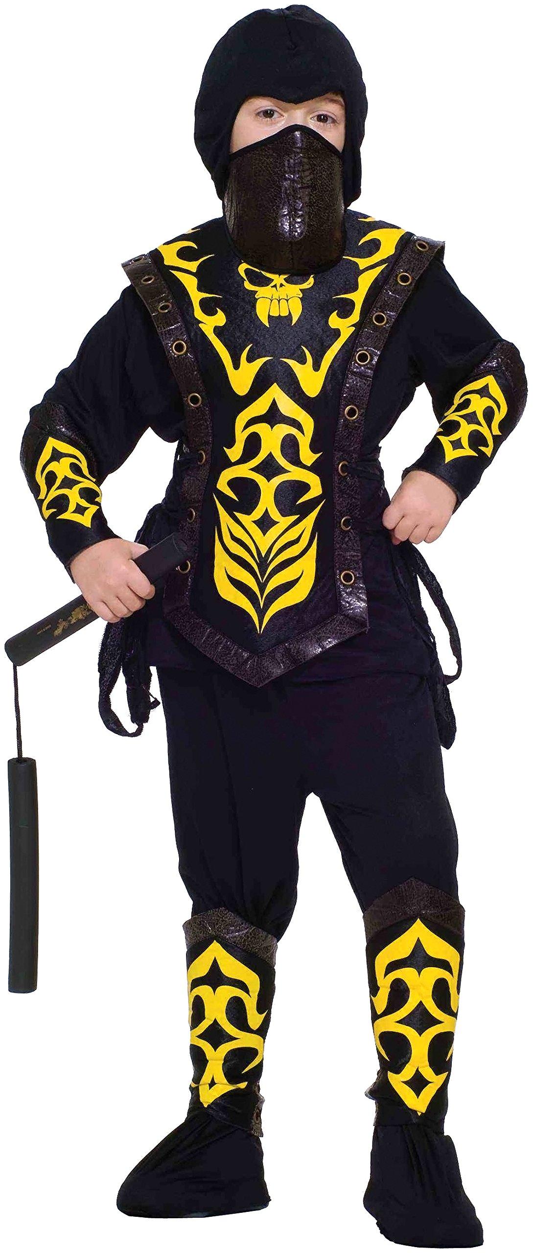 Forum Novelties Deluxe Ninja Master Child Costume, Large