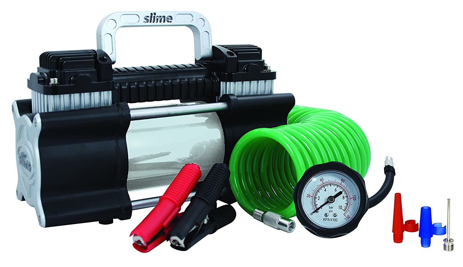 Slime 40026 2X Heavy Duty Direct Drive Tire Inflator: Amazon.es: Coche y moto