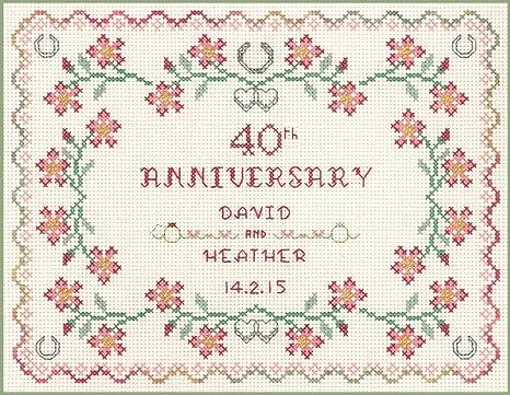 Anniversario Di Matrimonio 40 Anni Colore.Rubino Anniversario Di Matrimonio Per 40 Anni Di Matrimonio