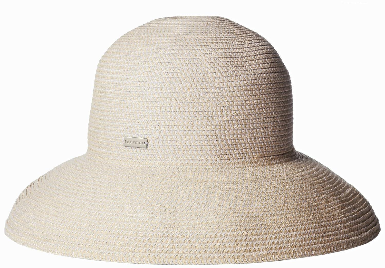 Betmar Women's Classic Roll Up Upturn Brim Hat Black One Size Betmar Womens Accessories B166