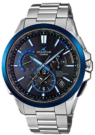 6bc786a2c3 [カシオ]CASIO 腕時計 オシアナス ブラックマーブル GPSハイブリッド電波ソーラー OCW-G1100TG-