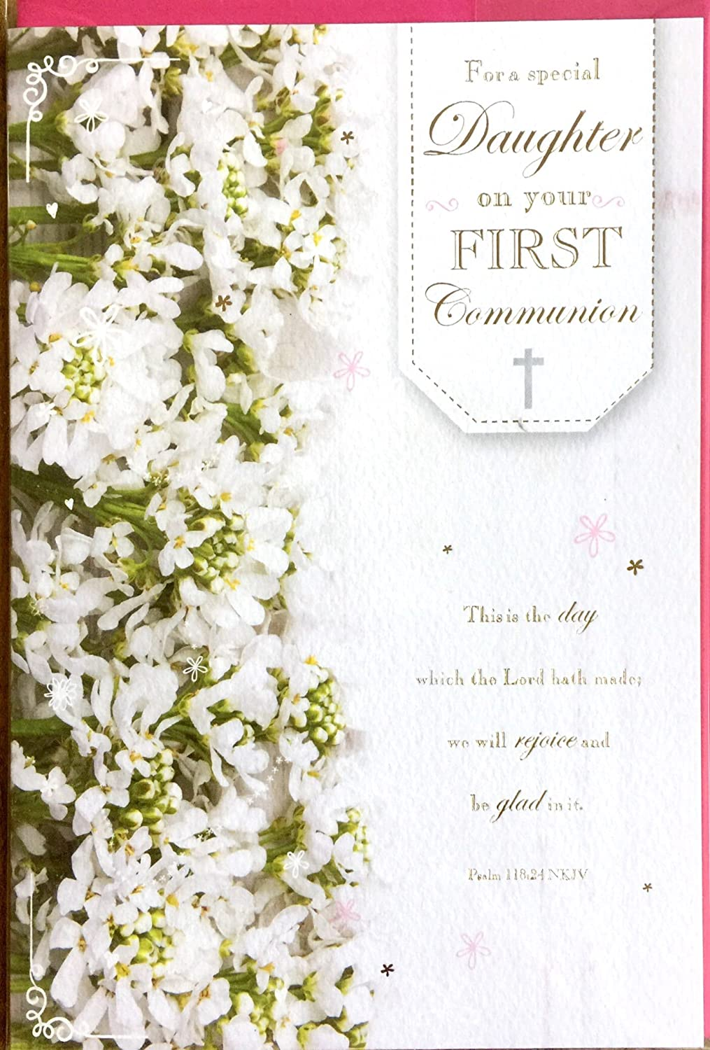 To a Wonderful Daughter on your First Holy communion 5218
