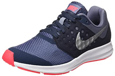 sports shoes 0b7d8 ae95b Nike Downshifter 7 (GS), Chaussures d Athlétisme Femme, Multicolore (Thunder