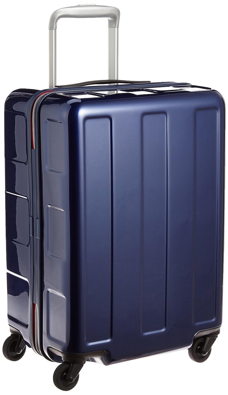 [プラスワン] PLUS ONE 軽量スーツケース ブーン 40L 2.5kg 機内持込可 シューズケース2個付き B018WSN40Y インディゴ/レッド インディゴ/レッド
