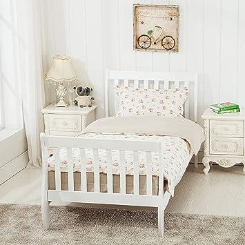Mecor Wooden Single Bed Frames 3ft For Kids Childrens Bedroom