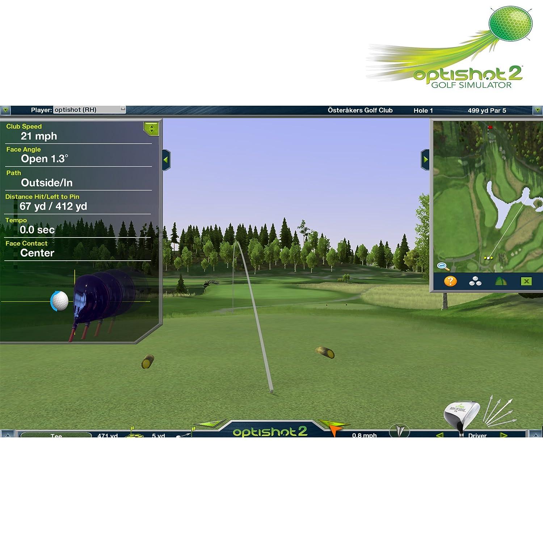 DANCIN DOGG OPTI Shot Infrarrojos 3D Golf Simulator ...