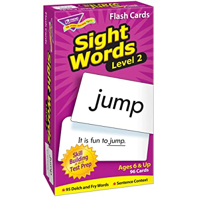 TREND enterprises, Inc. Sight Words – Level 2 Skill Drill Flash Cards: Toys & Games