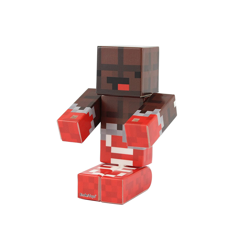 EnderToys Chocolate Action Figure Toy 4 Inch Custom Series Figurines
