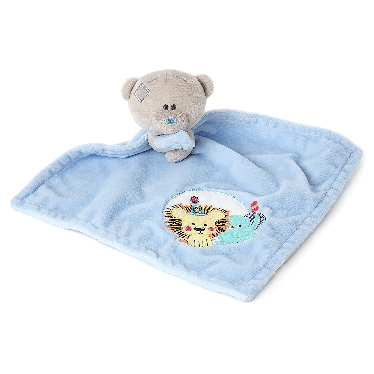 Me to You Tiny Tatty Teddy Baby Comforter, Blue Carte Blanche AGB92009