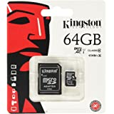 80MBs Works with Kingston Professional Kingston 64GB for BLU Amour MicroSDXC Card Custom Verified by SanFlash.