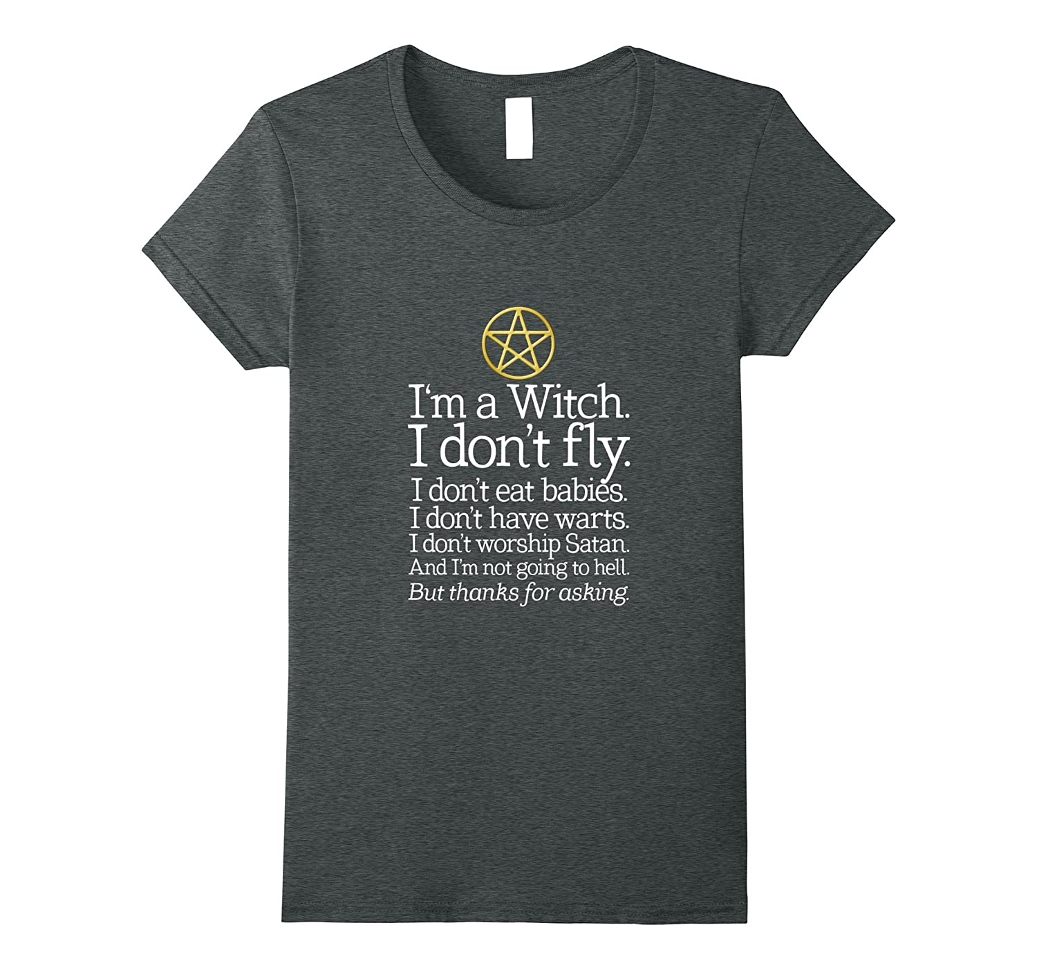 Womens Witch Dont Fly T Shirt-Awarplus