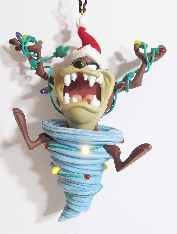 Hallmark Whirlwind Decorating Looney Tunes Taz Tasmanian Devil Ornament QXI4014