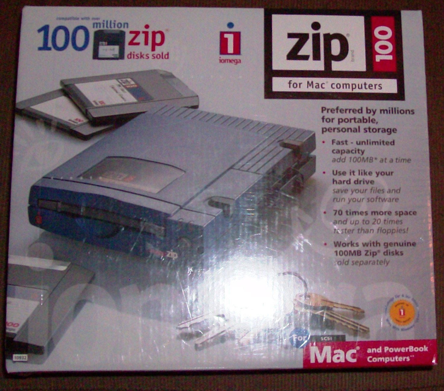 Iomega Zip 100 Drive for Windows and Mac Computers - SCSI by Iomega (Image #1)