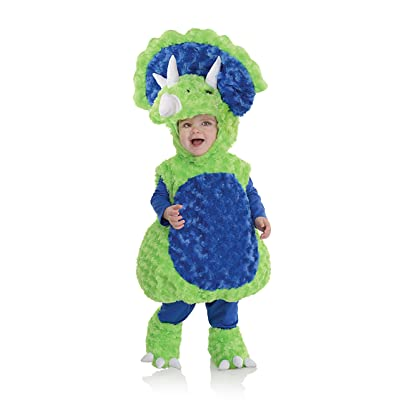 Underwraps Toddler's Triceratops Belly Babies Costume: Clothing