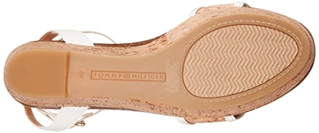 6881df5e72351f TOMMY HILFIGER Women s Hesley White Natural 9. 5 M  Buy Online at Low  Prices in India - Amazon.in