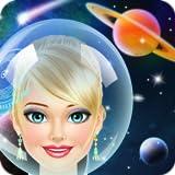 Space Girl Salon Makeover Game for Kids - Full Version
