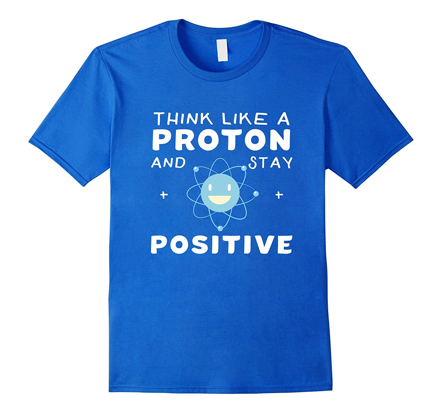 Womens Proton Positive Science T Shirt-Awarplus