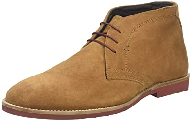 Red Tape Dorney Tan Suede Mens Desert Boots, Size 8