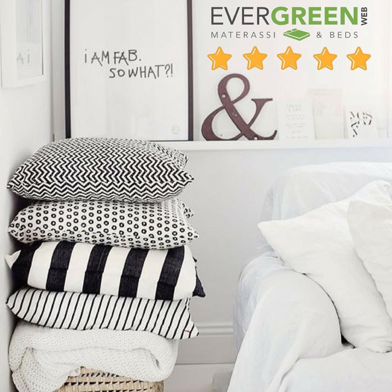EvergreenWeb - Pack de 2 Almohadas viscoelásticas de Copos 50x50 Altos 15 cm Efecto Pluma de Ganso antialérgico, Cojines para Dolores cervicales, por ...