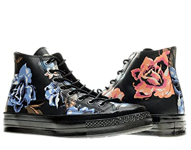6ab8c6fe376f Converse Chuck Taylor All Star 1970 High Top Sneakers 148575C Black Multi  Floral Print (7