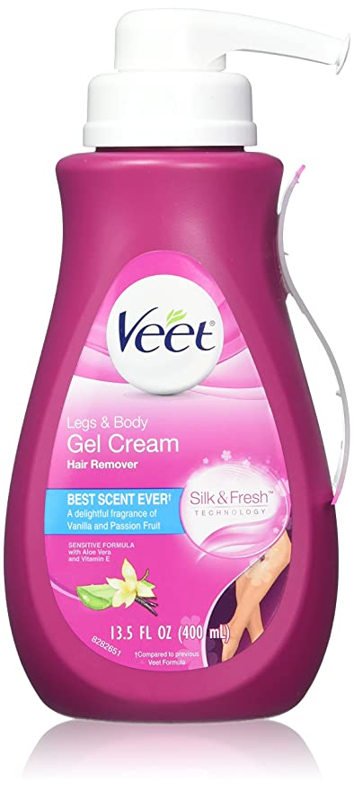Veet Gel Hair Remover Cream, Sensitive Formula, 13.50 Ounce by Veet