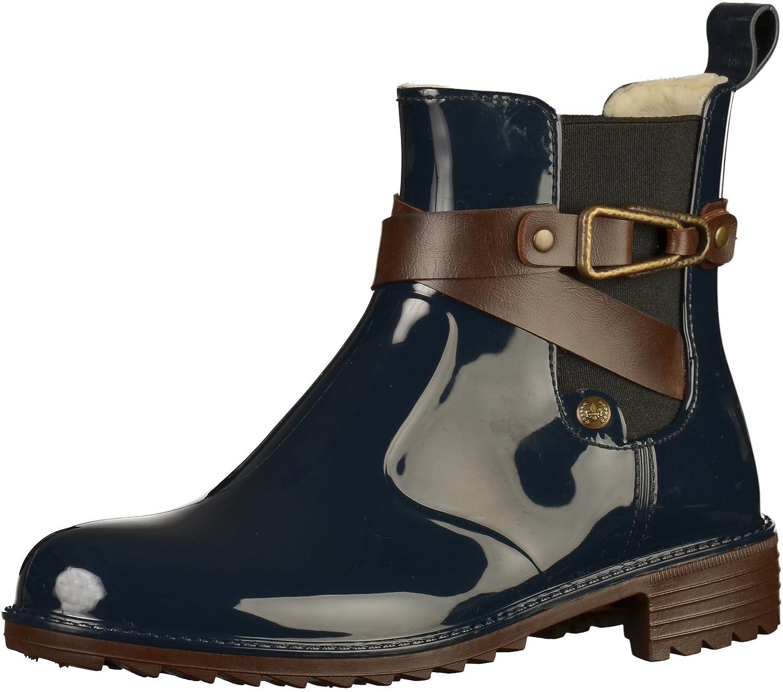 Rieker P8161-14 mujer boots Azul En línea Obtenga la mejor oferta barata de descuento más grande