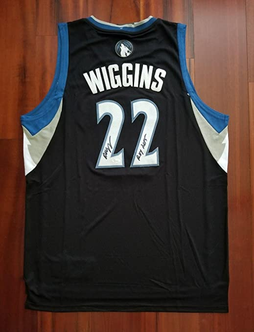 038526f0 Amazon.com: Signed Andrew Wiggins Jersey - Adidas ROY - JSA Certified -  Autographed NBA Jerseys: Sports Collectibles