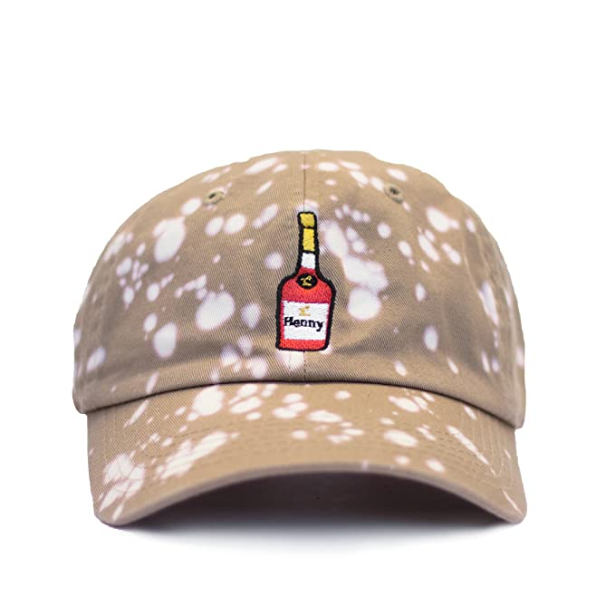afd7a908c5 Hennessy Dad Hat Baseball Cap (Beige bleached)  Amazon.ca  Clothing ...