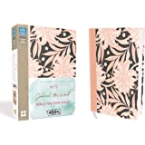 NIV, Journal The Word Bible For Teen Girls, Red Letter Edition: IncludesOver 450 Journaling Prompts! [Pink Floral]