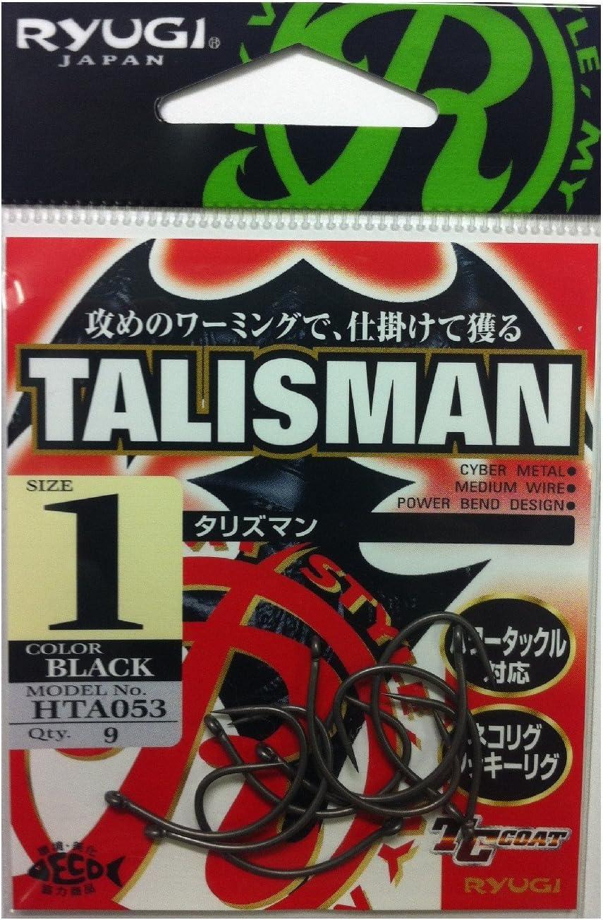 Ryugi HTA053 Talisman Neko Hook Size 1 8558