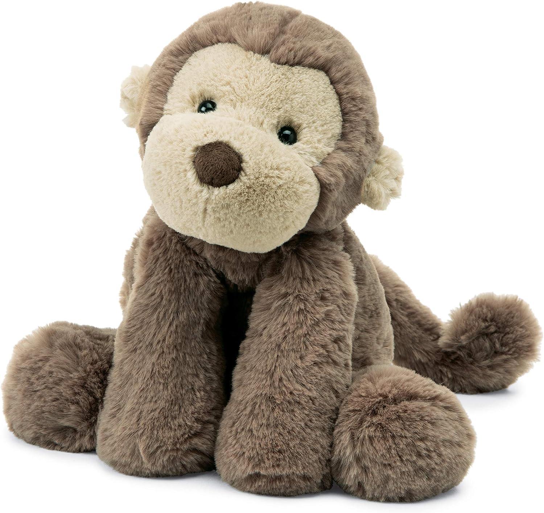 Amazon Com Jellycat Smudge Monkey Stuffed Animal Medium 14 Inches Toys Games