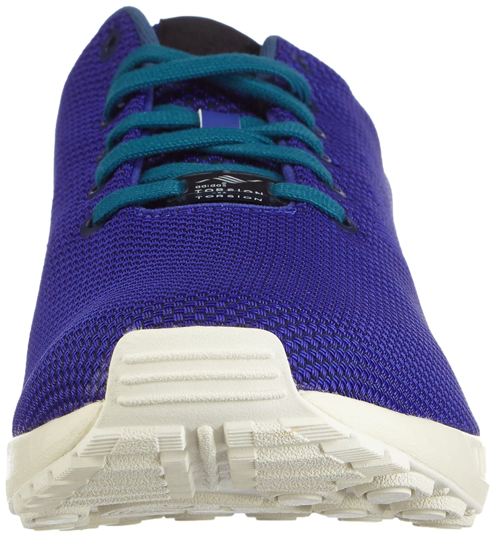 Adidas ZX Flux, Zapatillas Unisex, Azul (Dark Blue/Night Flash S15/Rich Blue F14), 43 1/3 EU