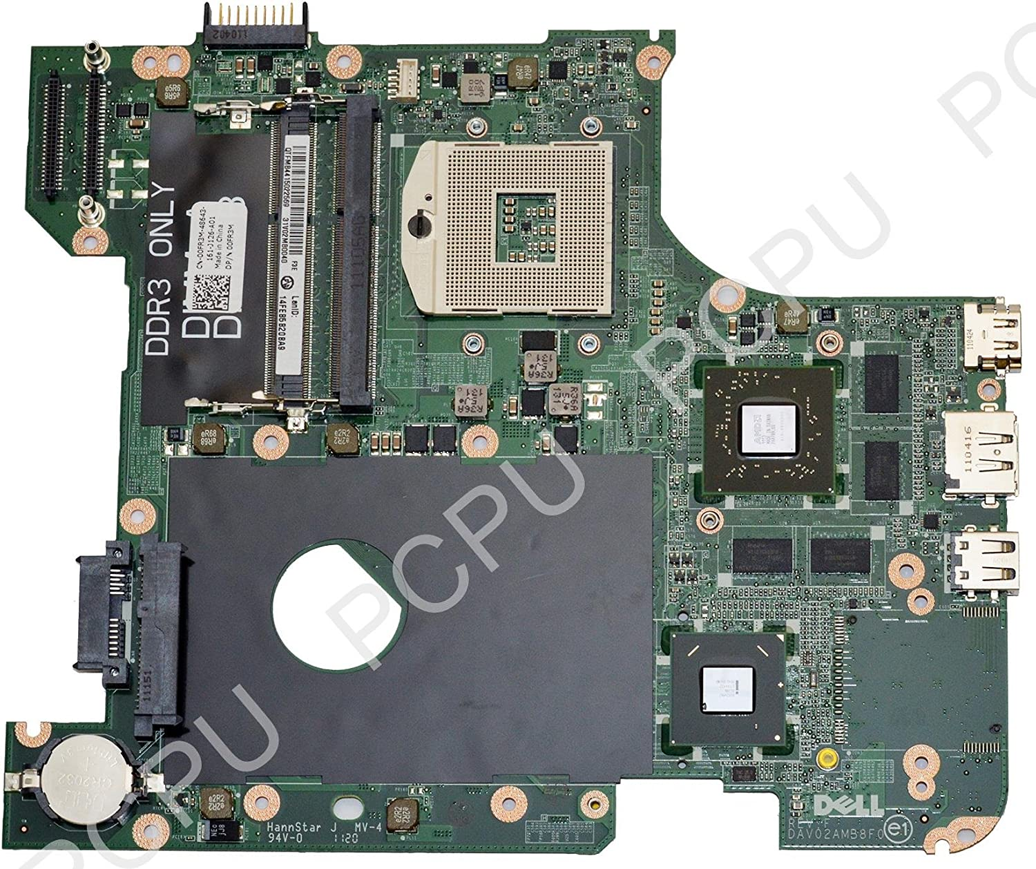 0FR3M Dell Inspiron 14R N4110 Intel Laptop Motherboard s989