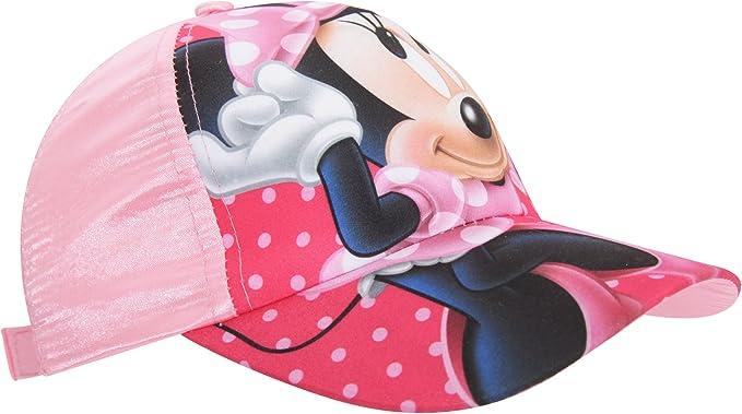 Disney - Gorra de Minnie Mouse para niñas (54cm/Rosa): Amazon.es ...