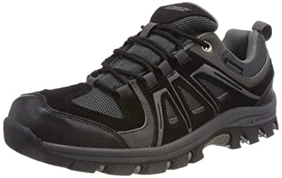Gregster Gregster Gregster Hombre Hiking Zapatos In negro Water Repellent and 263834