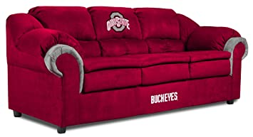 Amazoncom Ohio State Buckeyes Pub Sofa Sports Fan Sofas